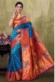 Paithani Peacock Color Saree