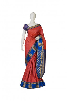 Extravagant Soft Silk Rani Saree